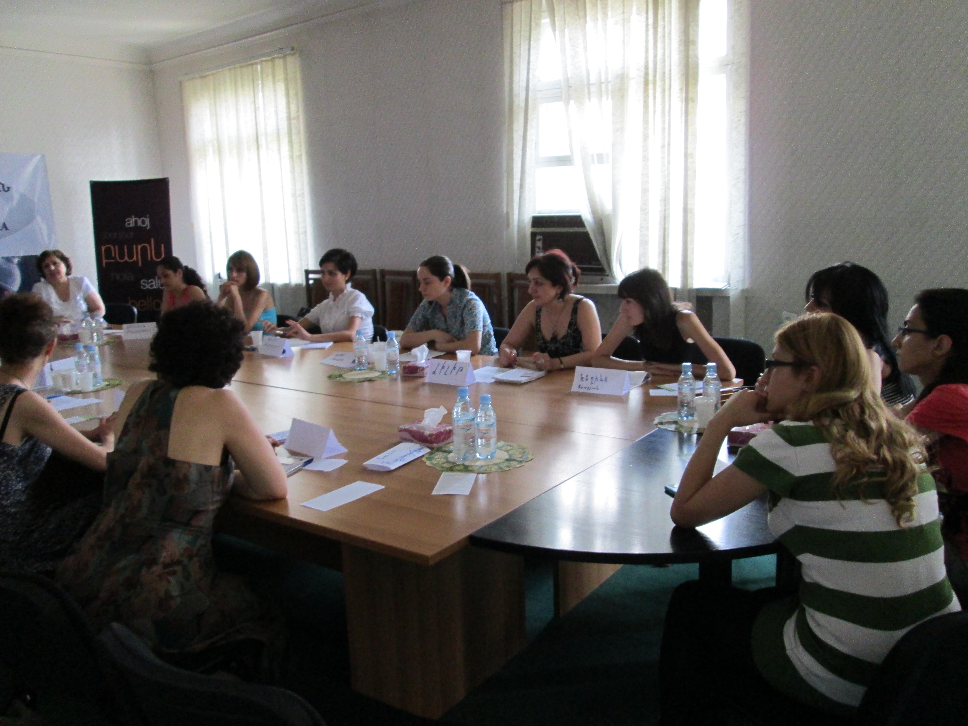 Հանդիպում Հայաստանի գործատուների հանրապետական միությունում ` Կանանց ձեռներեցության զարգացման ծրագրի շրջանակներում