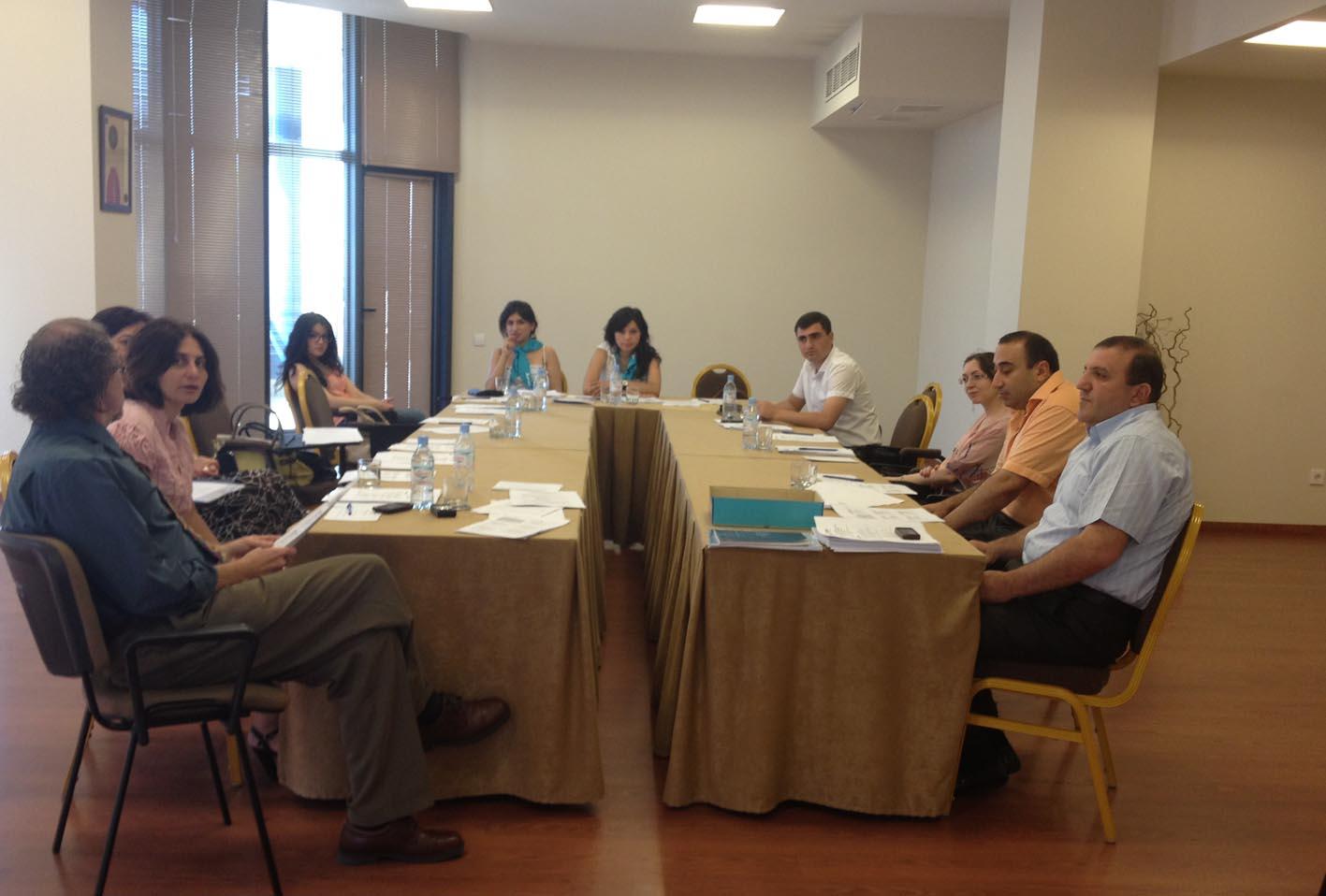 Training seminar held within the USAID program