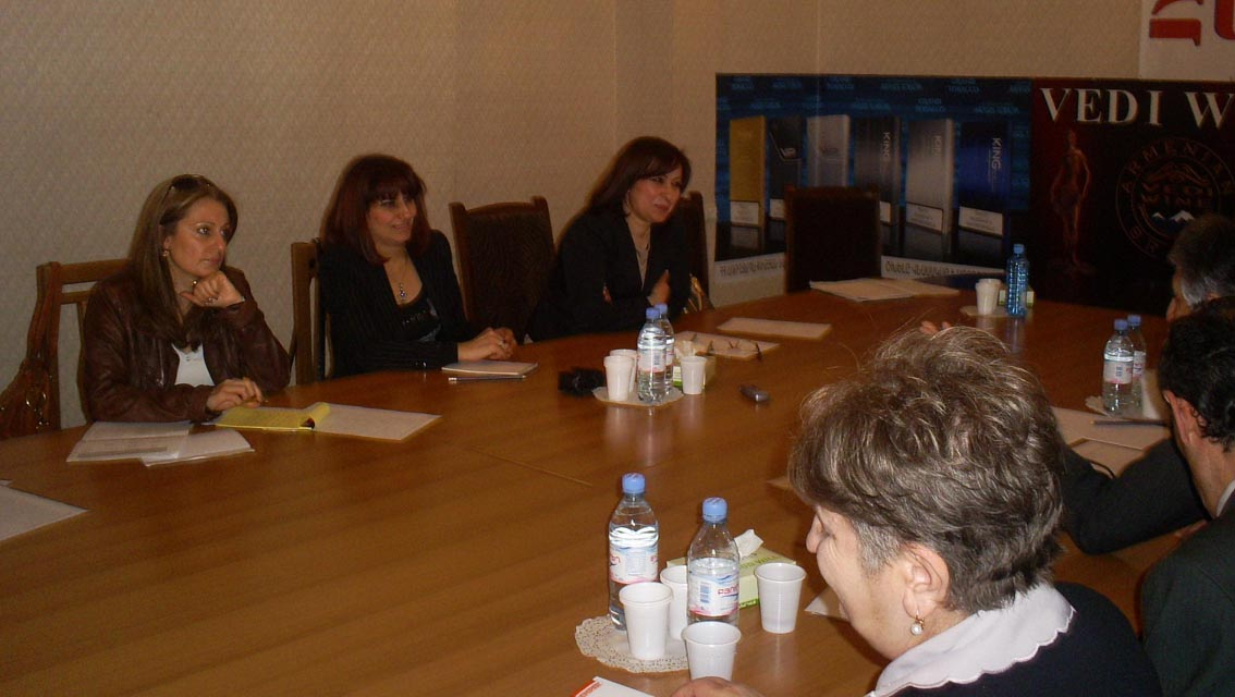 Meeting of Private Employment Agencies Sectorial Union of Republican Employers Union of Armenia