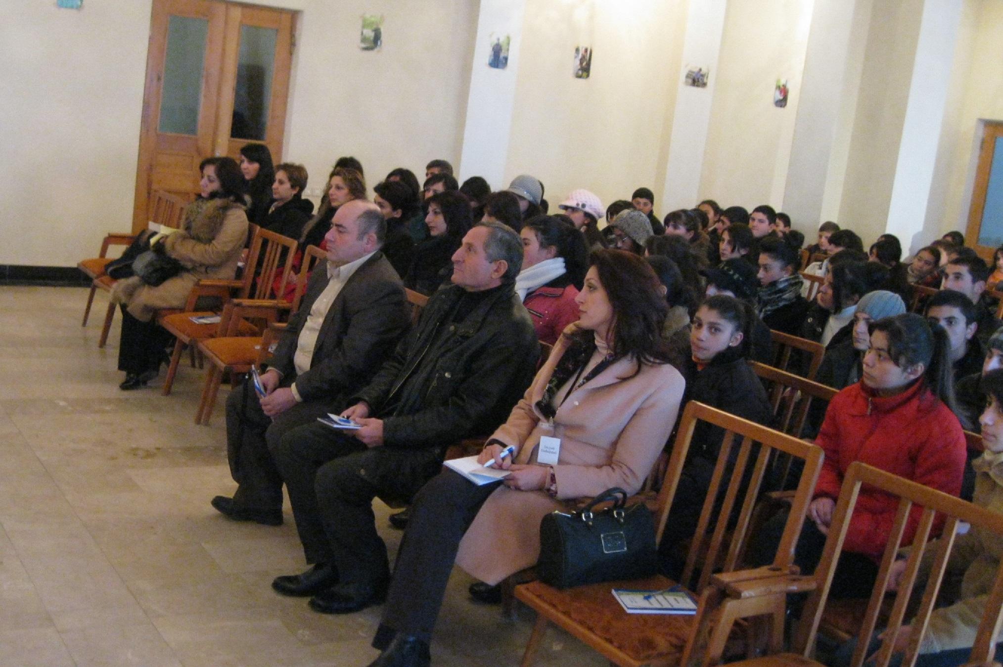 Գյուղի երիտասարդության զբաղվածության հեռանկարներին նվիրված կոնֆերանս