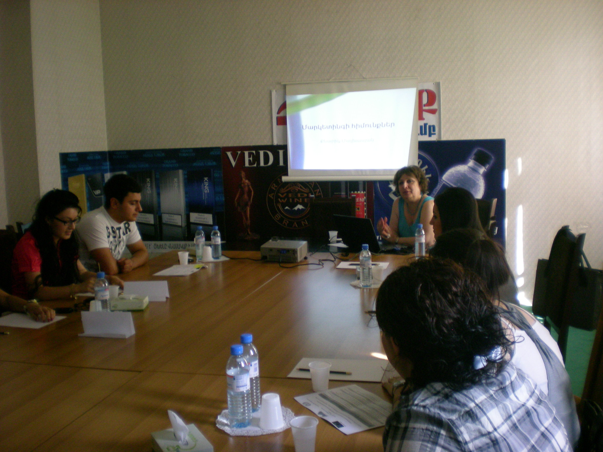 Seminars and Round table in Republican Union of Employers of Armenia
