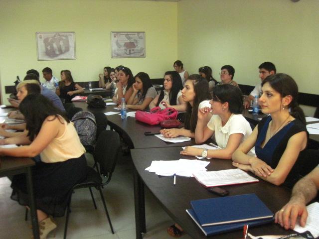 Время встреч с выпускниками! Ереванский филиал московского государственного университета экономики, статистики и информатики.